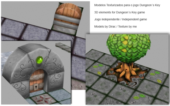 Dungeon´s Key in progress…