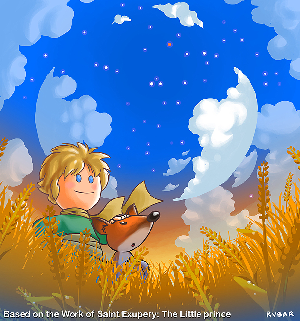 Little Prince and the Fox (friends)