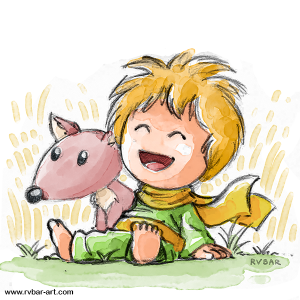 Pequeno Principe e Raposa 3 small