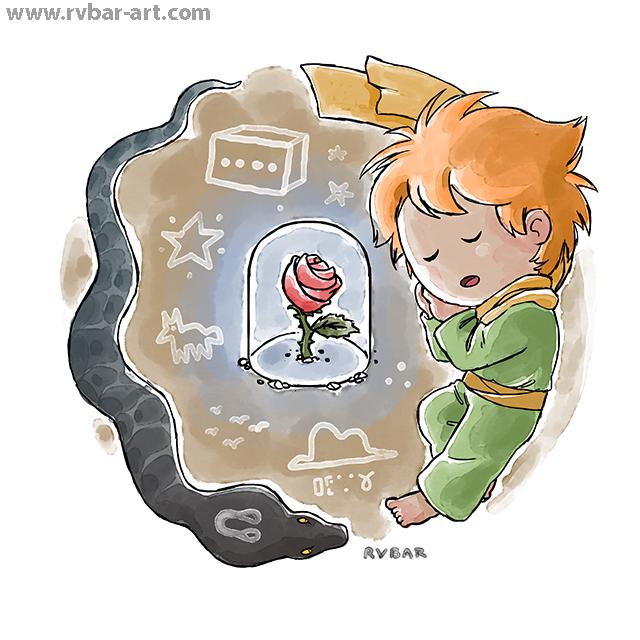 pequeno principe e raposa - ouroboro_small